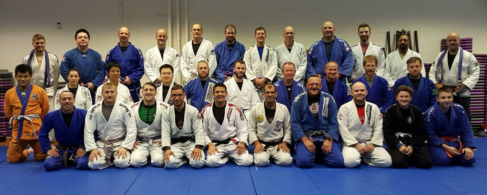Megaton Diaz BJJ Seminar May 4th 2014